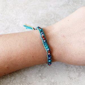 Chan Luu Turquoise Mix Single Bracelet